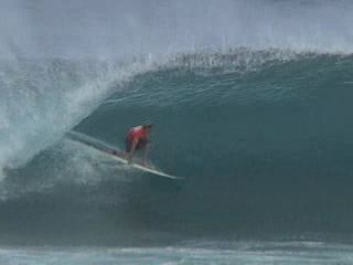 Surfing Pipeline with Sunny Garcia